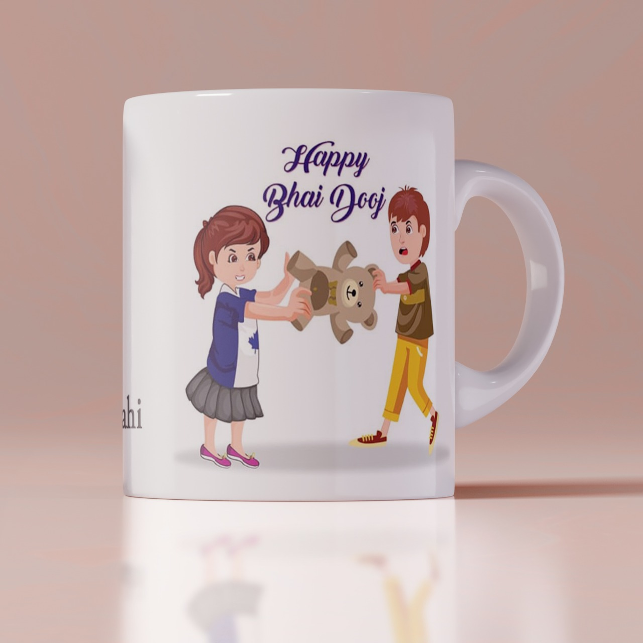 Happy Bhai Dooj Customize Mug