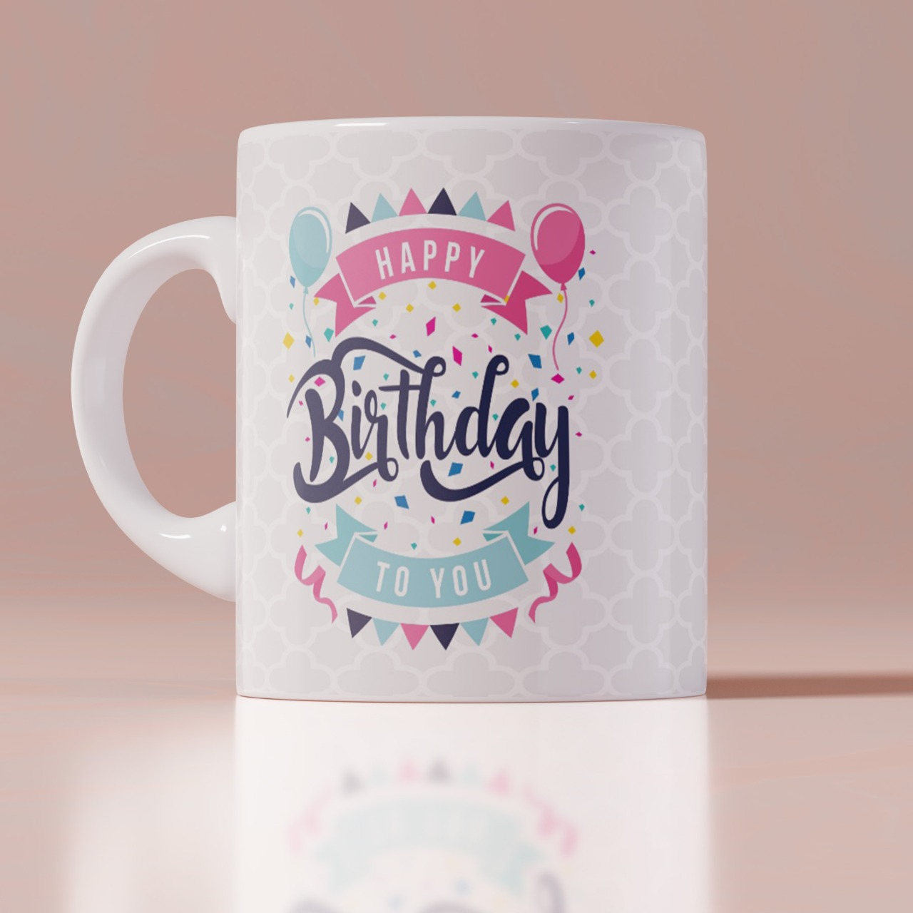 Happy Birthday To You Customized Coffee Mug