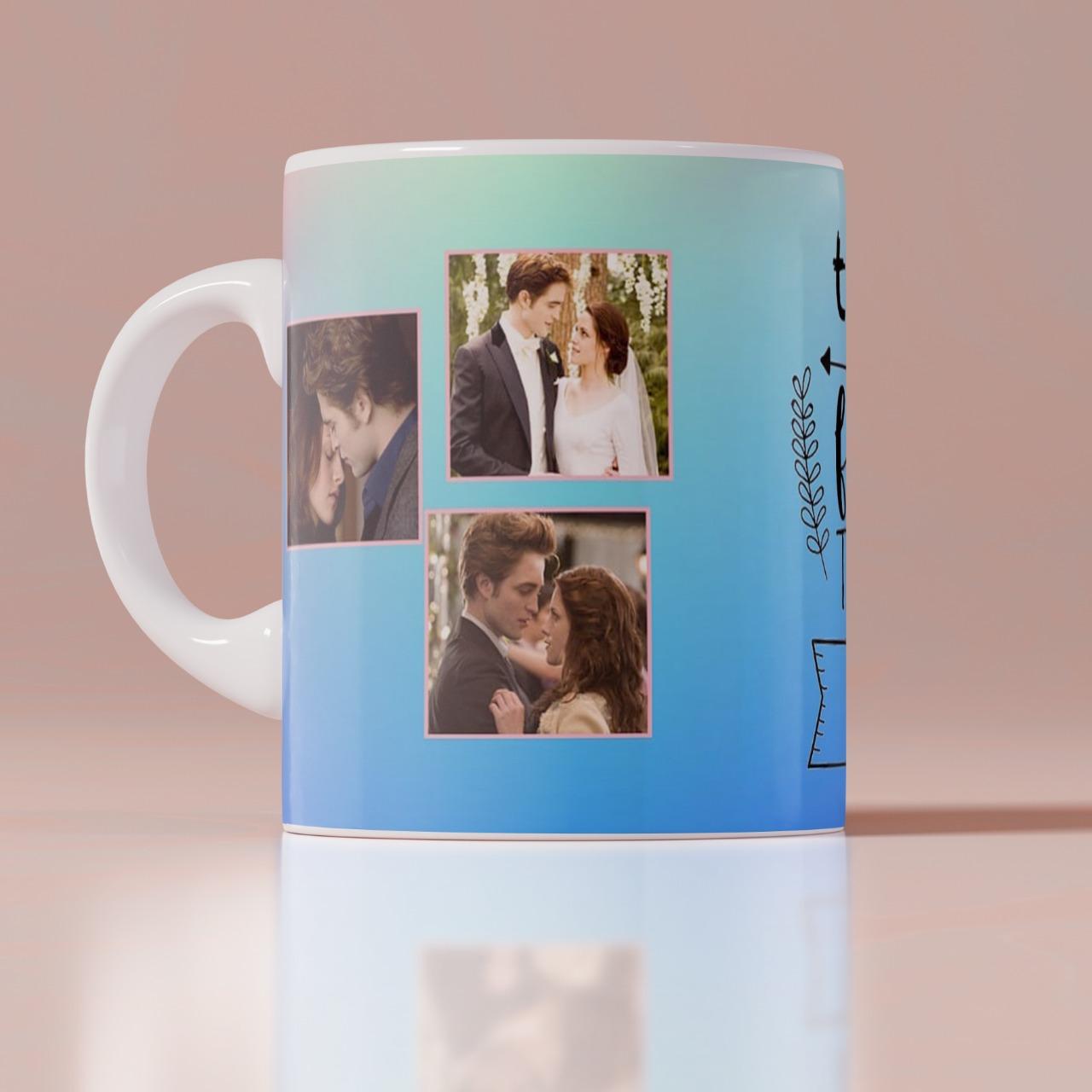 I Smile Personalized White Mug