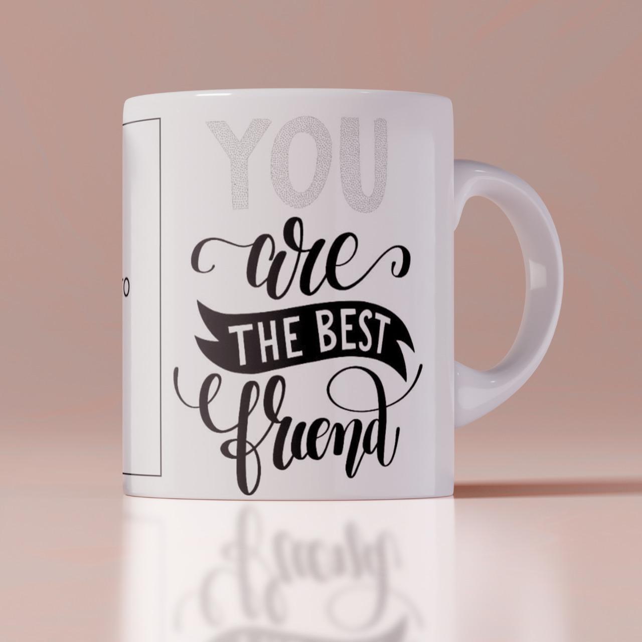 The Best Friend Birthday Mug