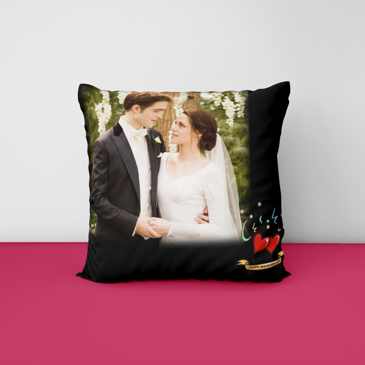 Anniversary Personalizd Cushion