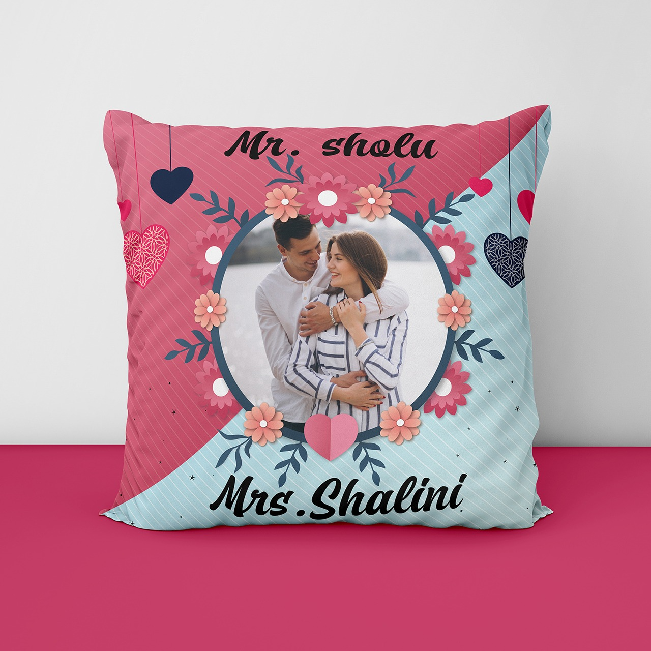 Personalized Printed Cushion