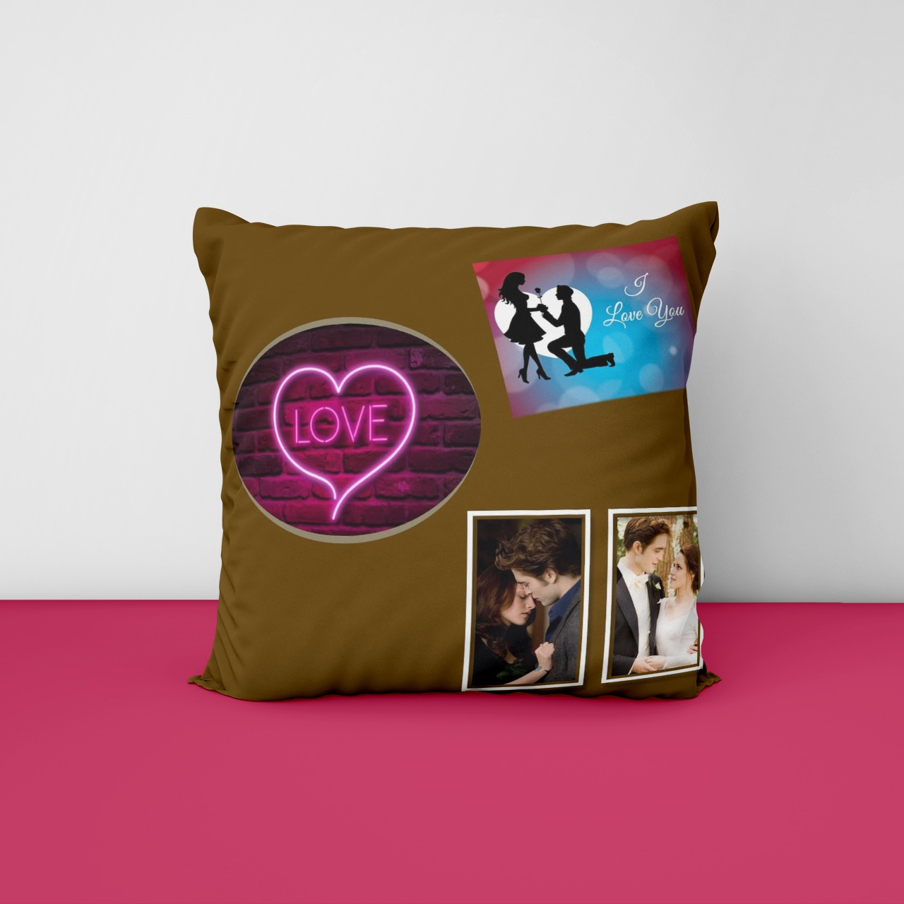 Love Personalized Cushion