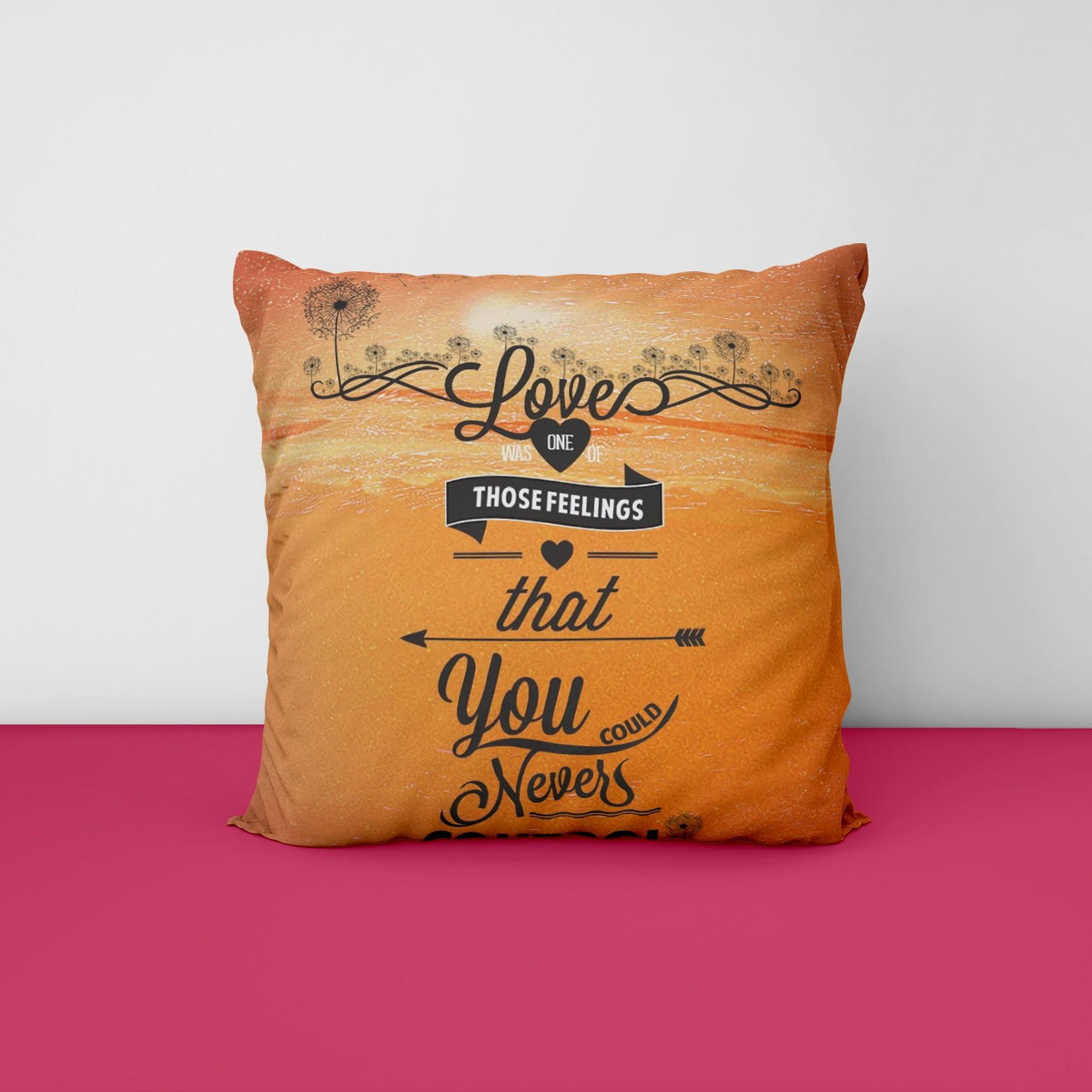 Love one Customize  Cushion