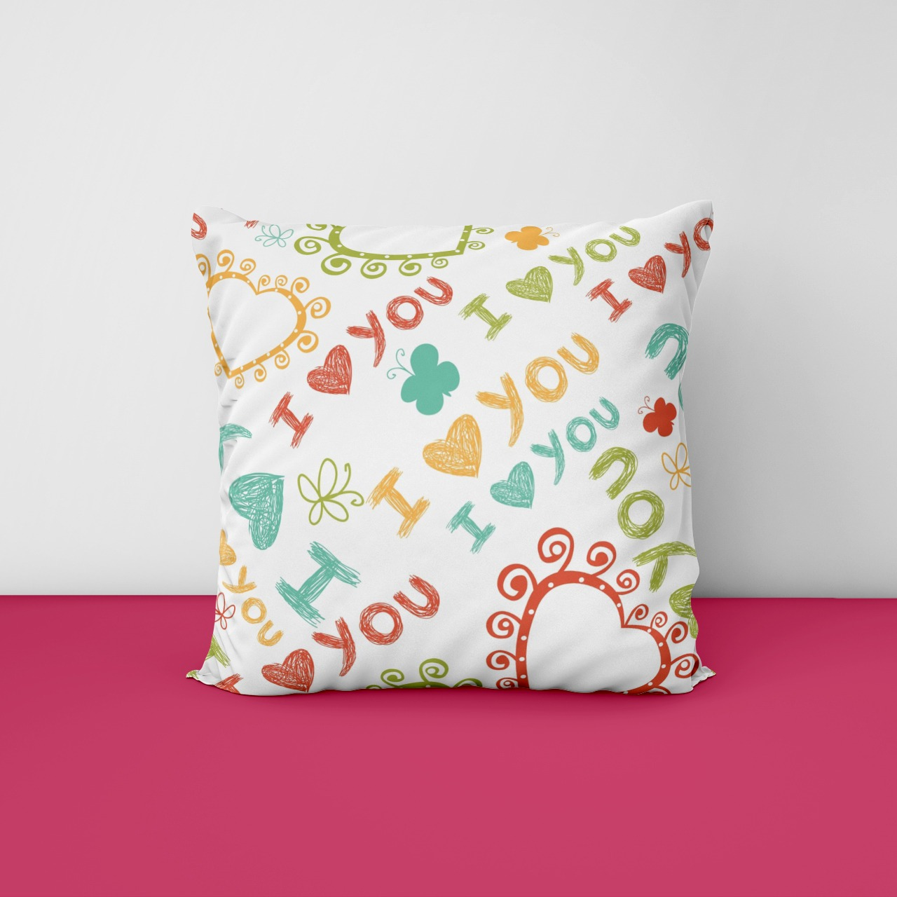 Love Customize Cushion
