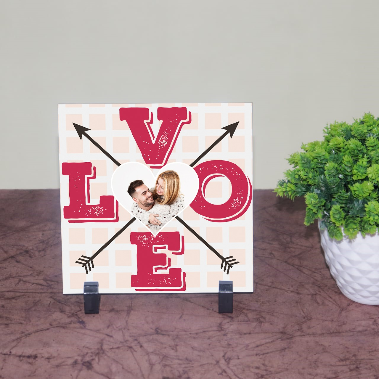 Love Personalized Tile