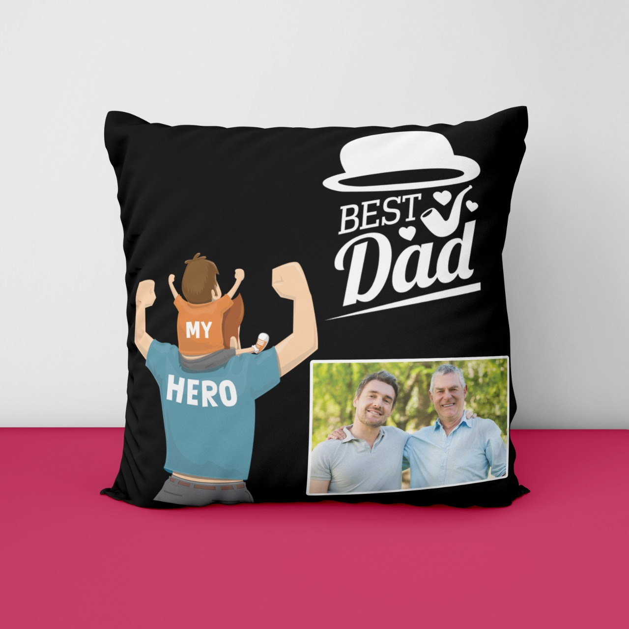 Best DadPersonalized Cushion