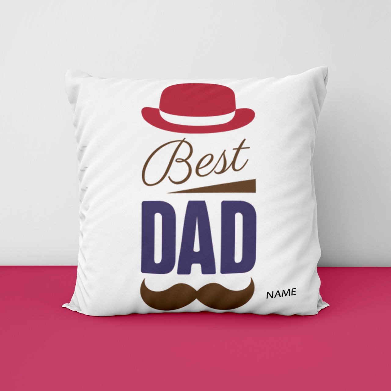Best Dad Customize Cushion
