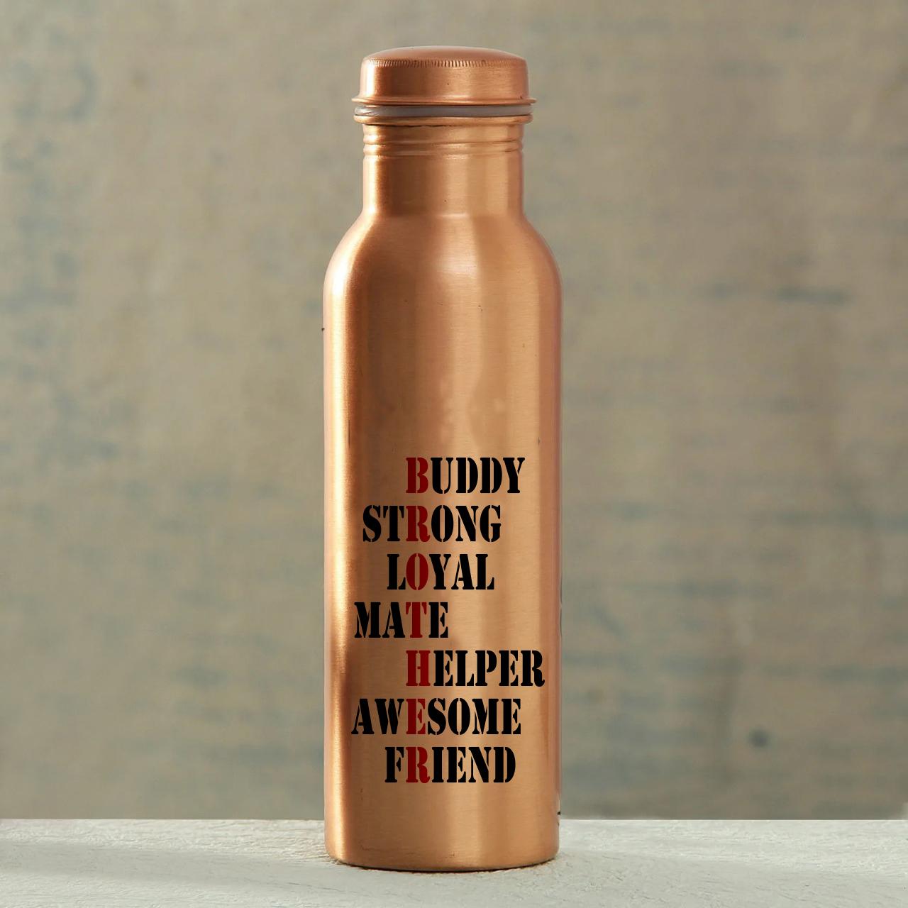 Buddy Strong Loyal Copper Bottle