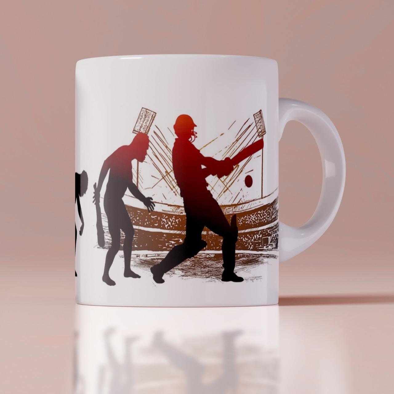 Cricket Lover Customized Mug