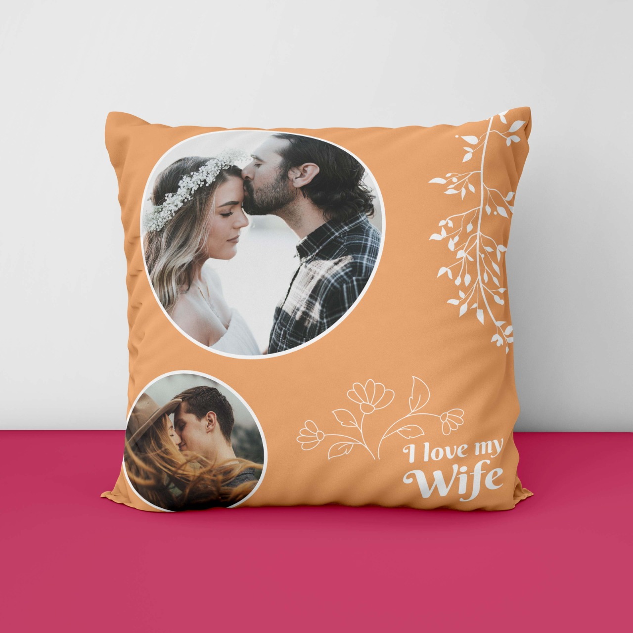 I love Wife Personalized Cushion
