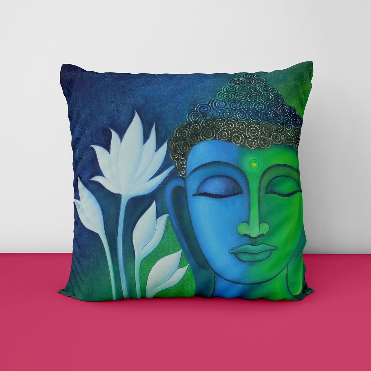 Buddha Photo Customize Cushion