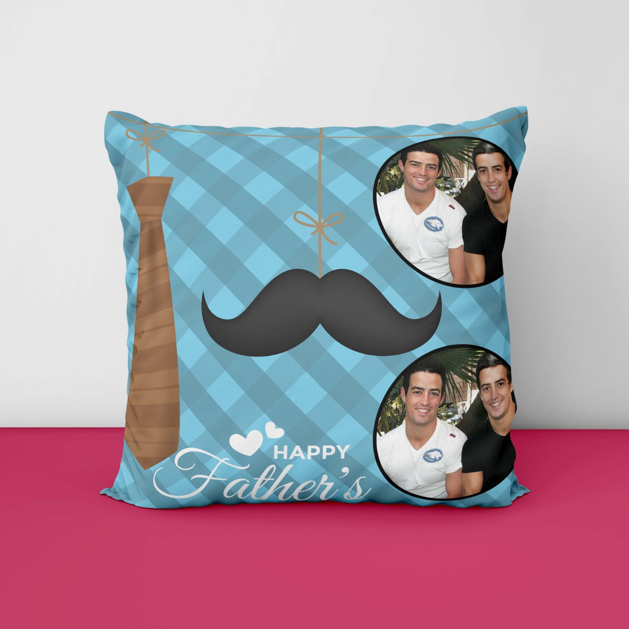 Happy Father Day Personalized Cushion
