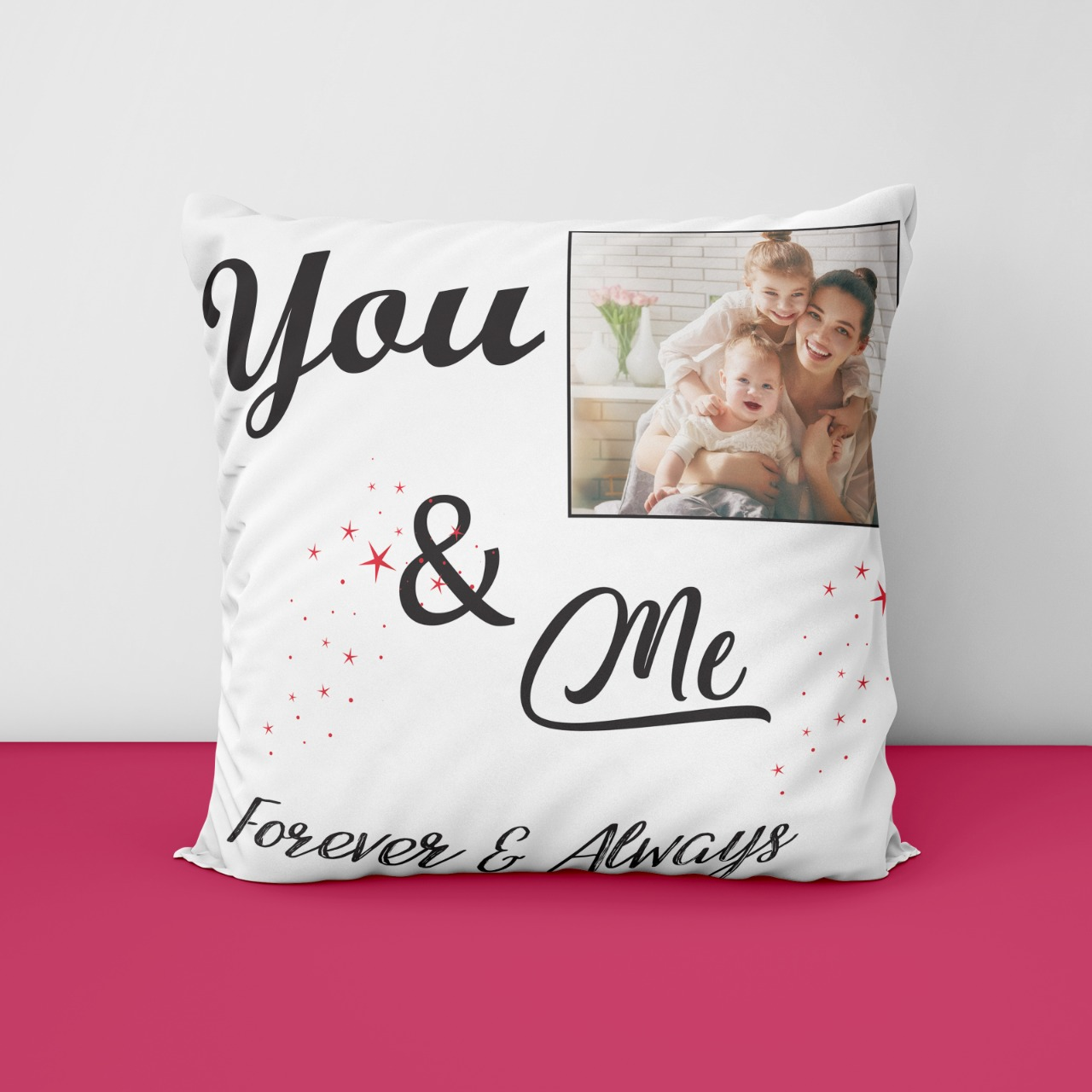 Forever And Always Personalized Cushion