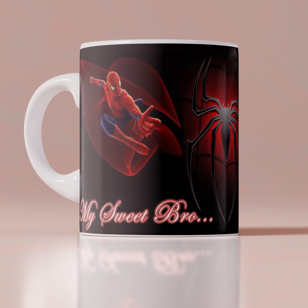 My Sweet Bro Spider Man Customized Mug