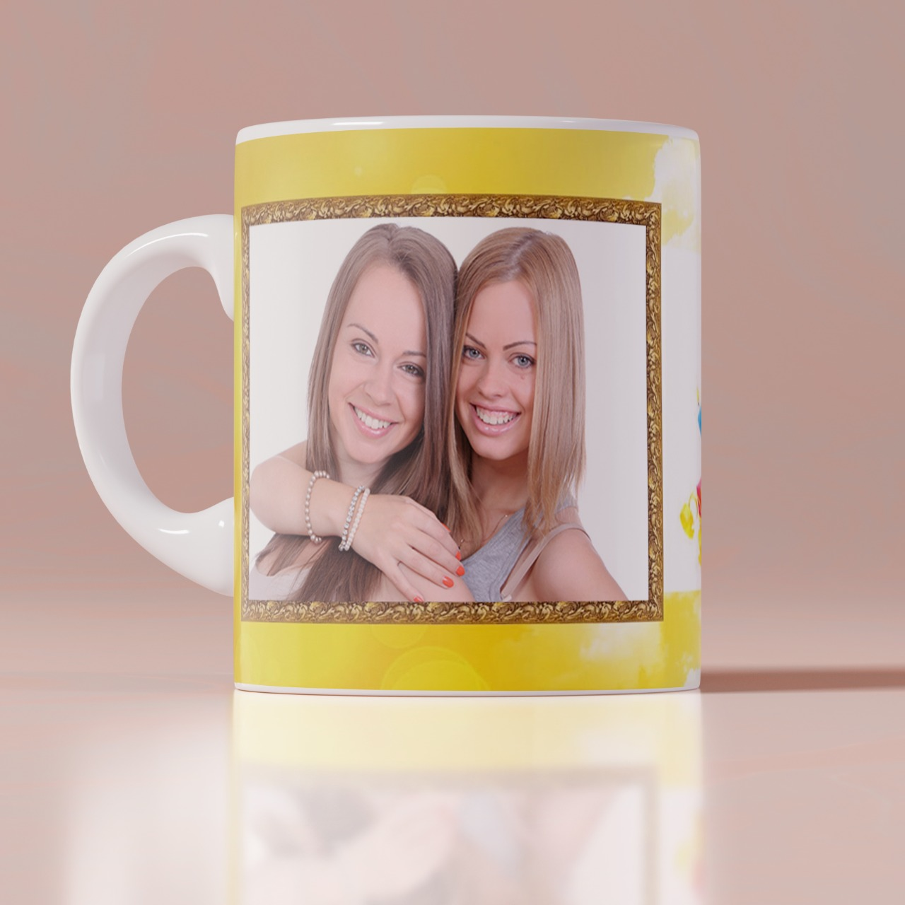 Happy Birthday personalized White Mug
