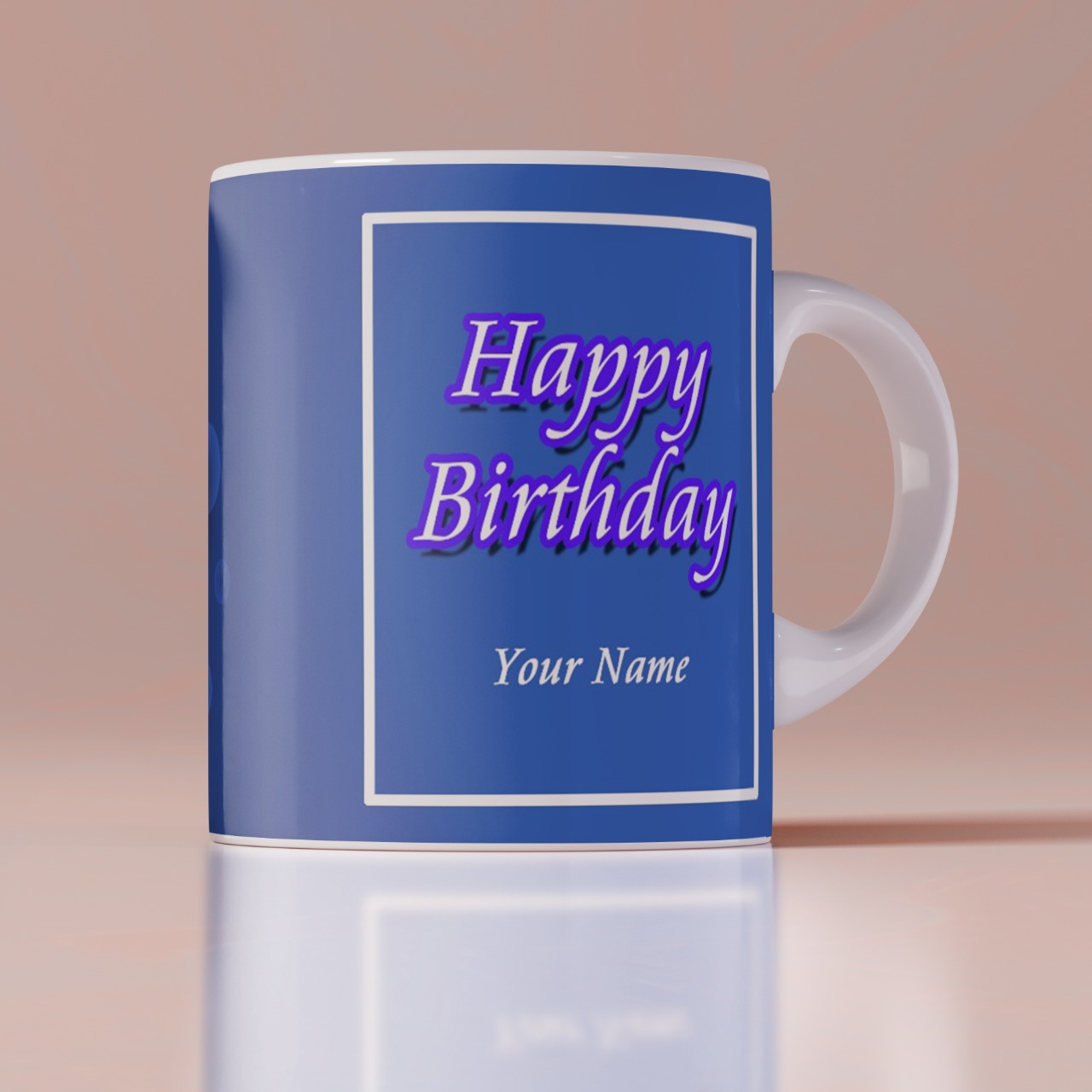 Birthday personalized Coffee White Mug