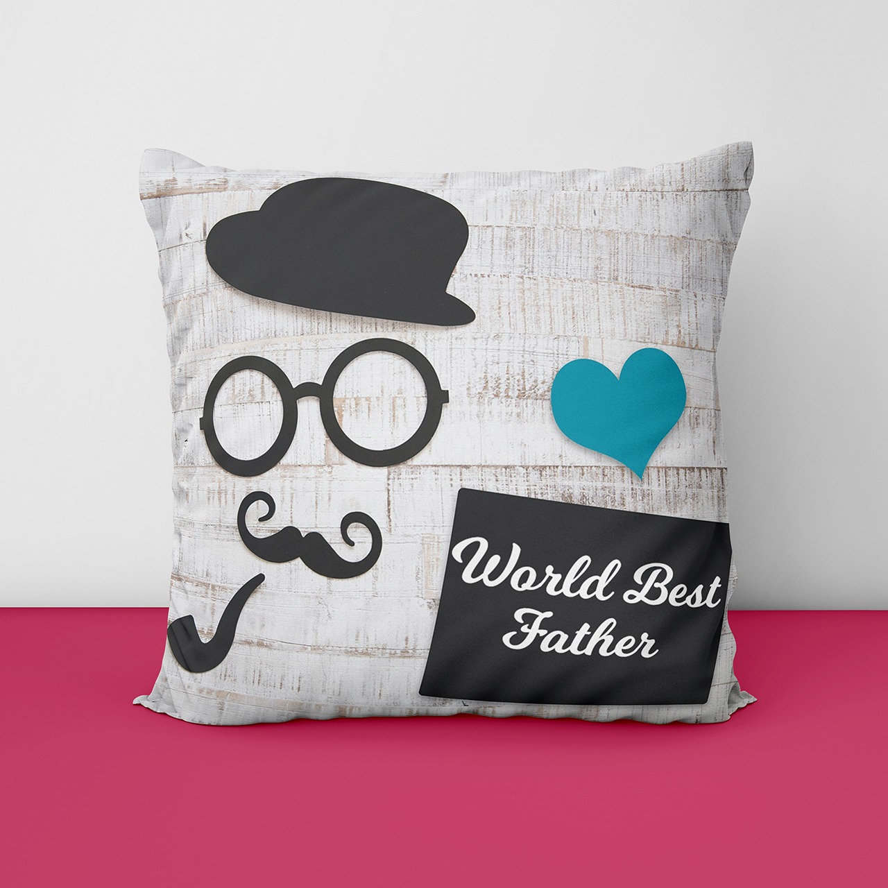 World Best Dad Customize Cushion
