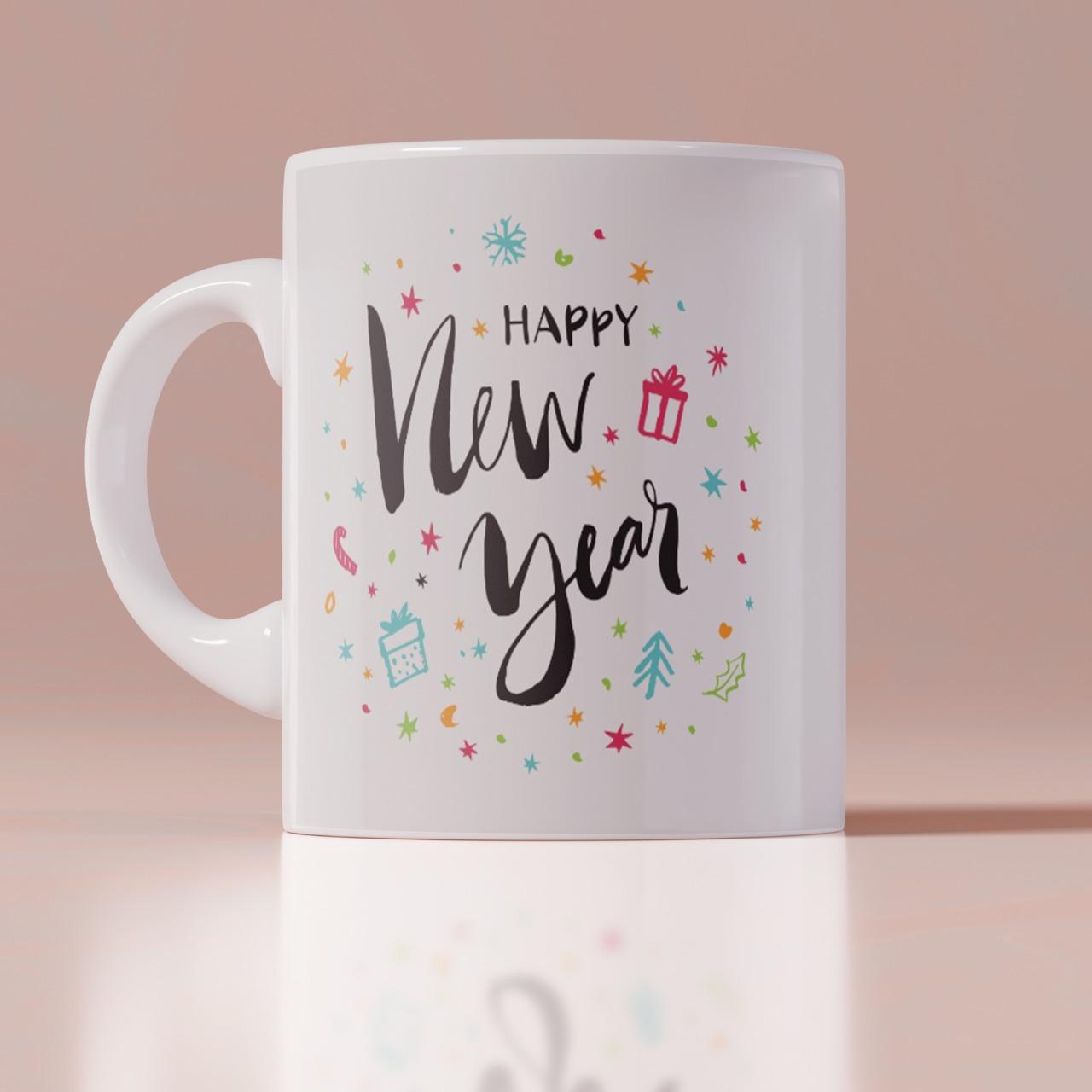 Happy New Year Customized Mug