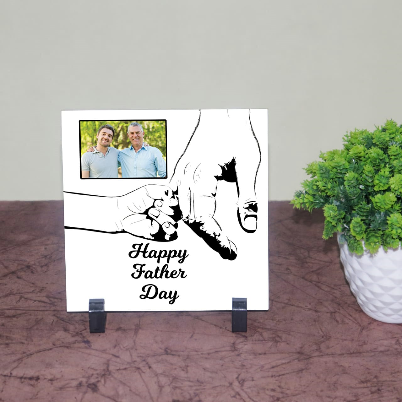 Happy Father Day Personilzed Tile