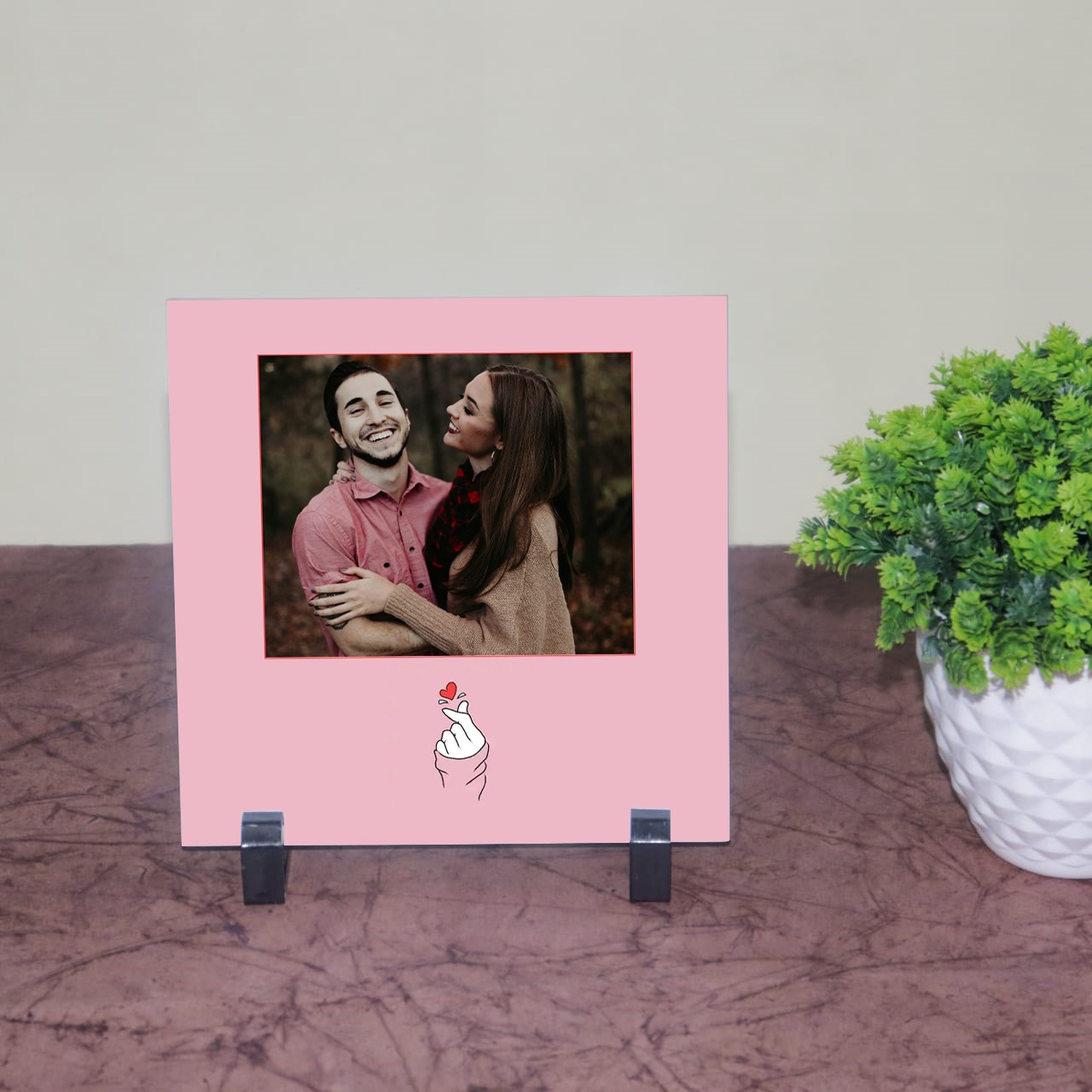 Personalised Romantic Tile