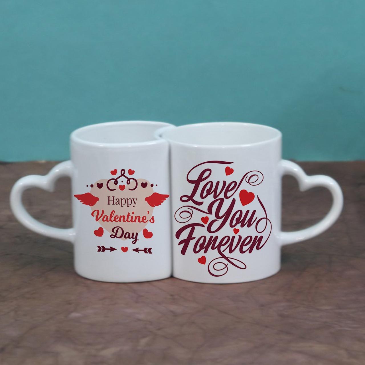 Love Magnet Couple Mug