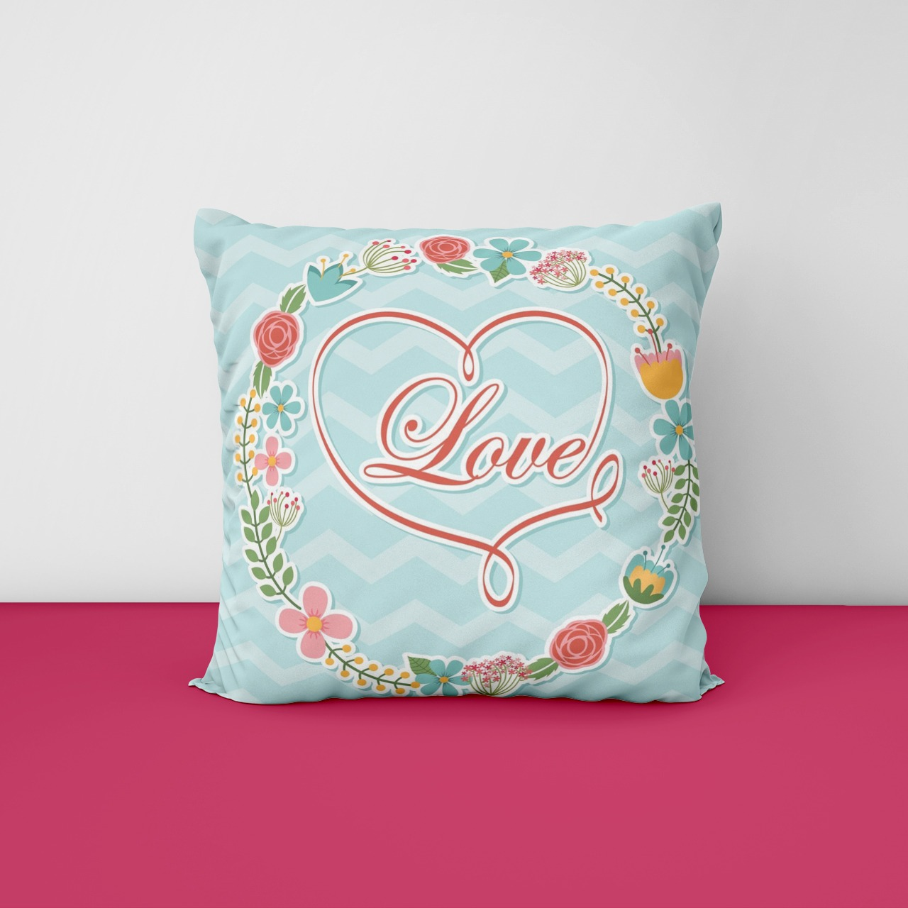 love silken Pillow
