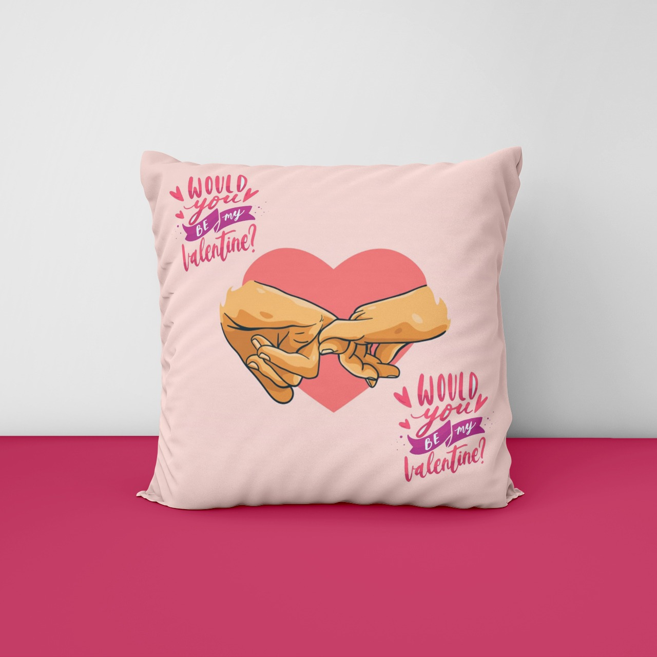 your Be My Valentine Cushion