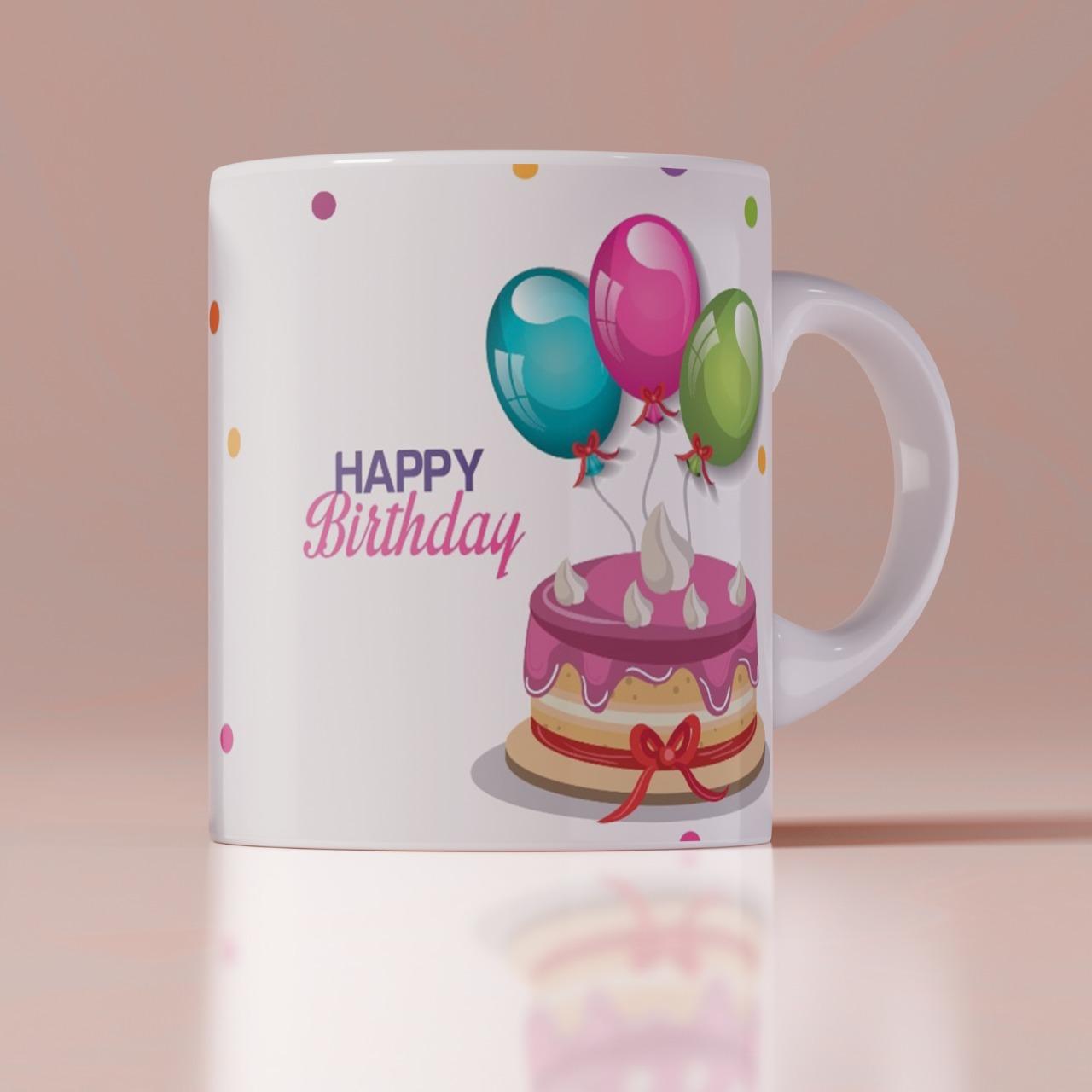 Birthday Customized Coffee Mug