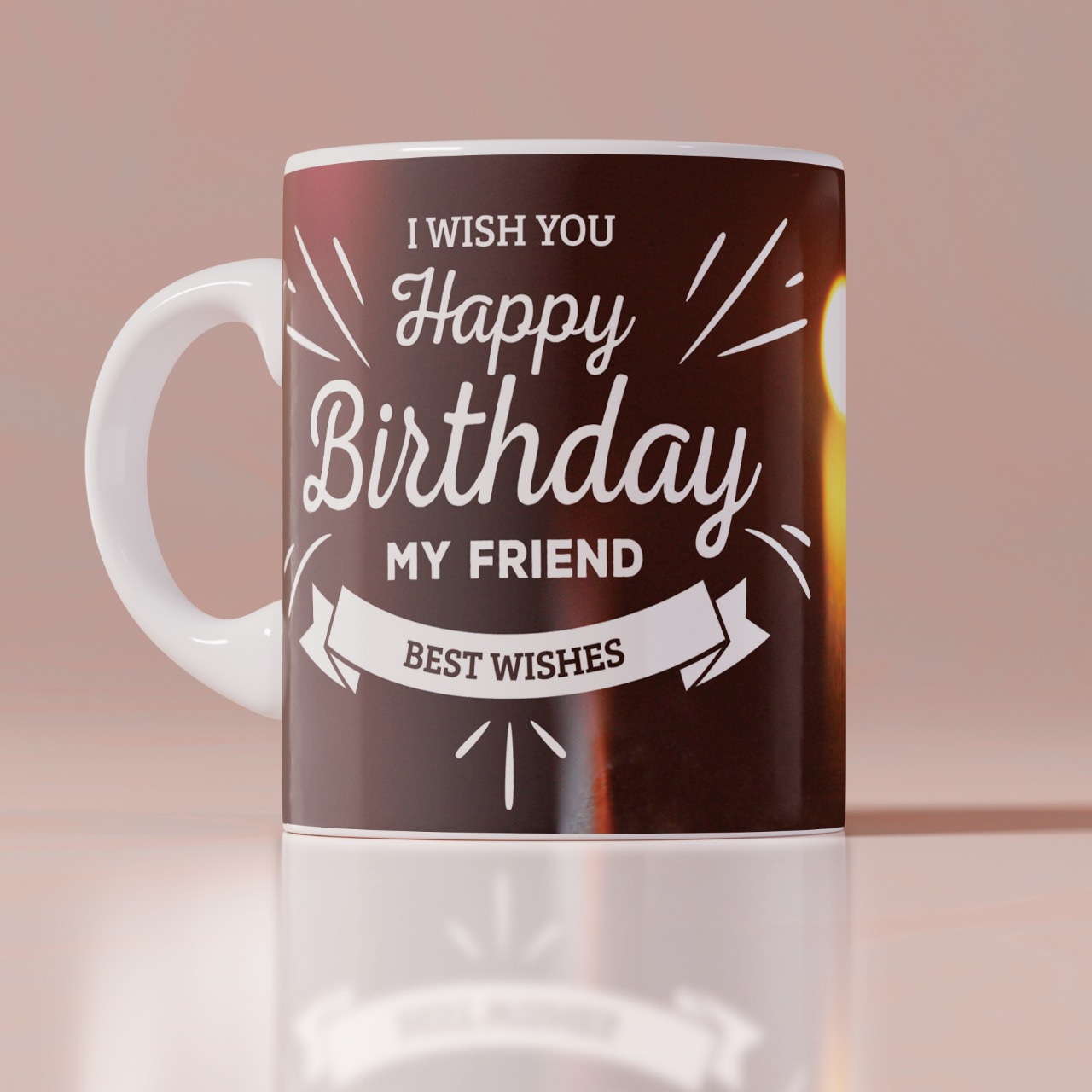 Best Frienda Birthday White Mug
