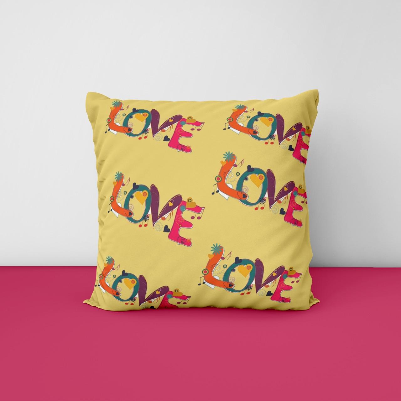 Love Customize Cushion