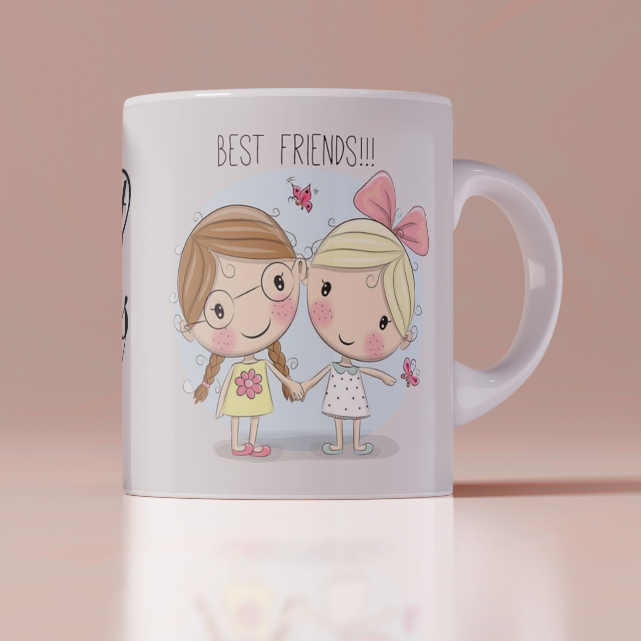 Best Friend Forever Mug
