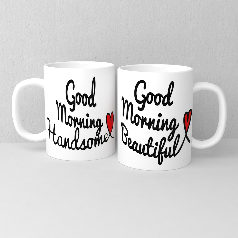 Customizable White Ceramic Mug