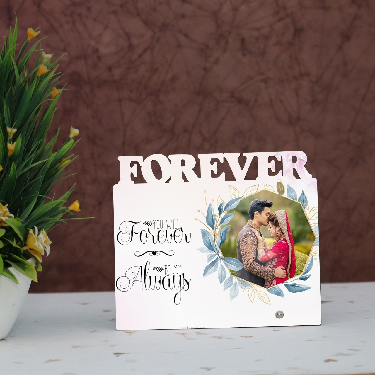 You Will Forever Personalised Photo Frame