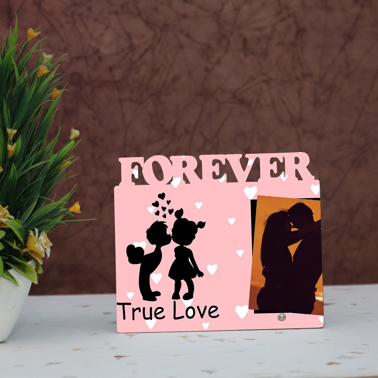 Ture Love Forever Personalised Frame