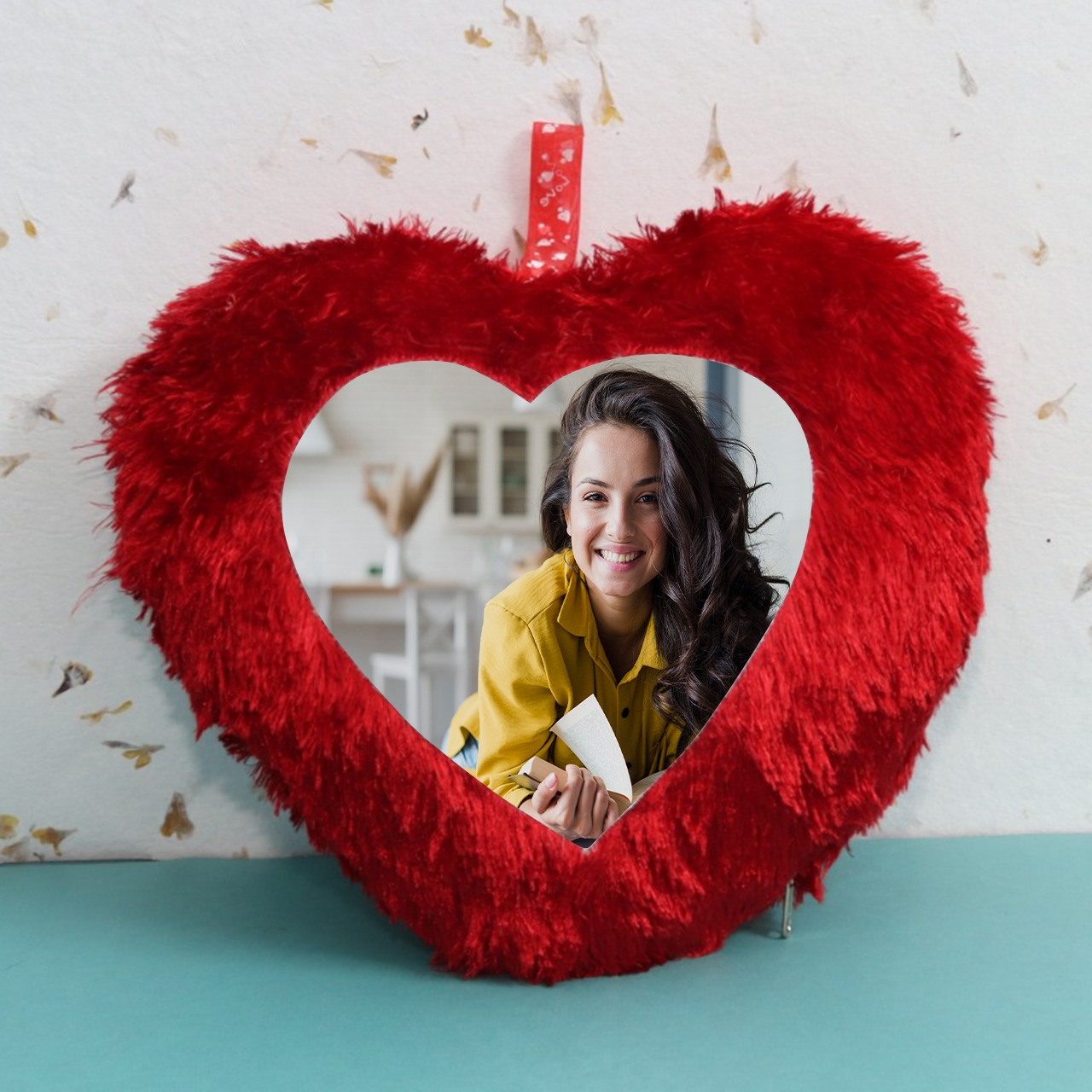 Personalized Heart Shaped Cushion