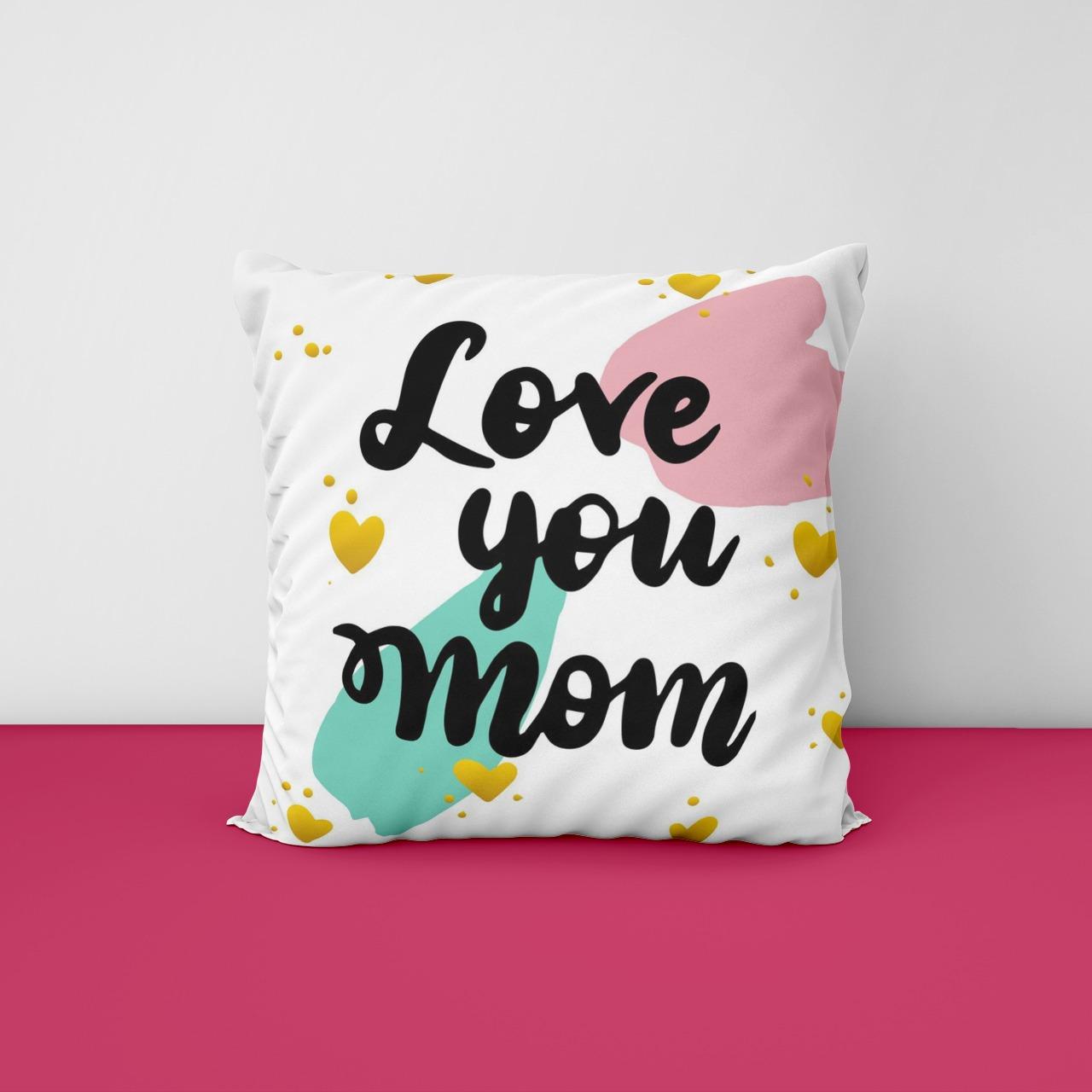 Loving Mom Satin Cushion