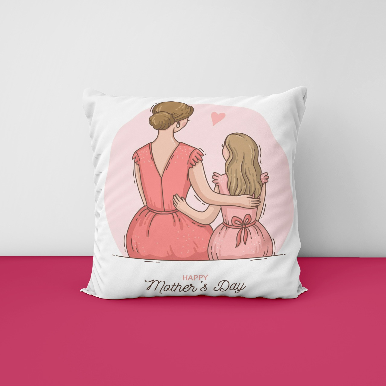 Satin Cushion For Mothers Day
