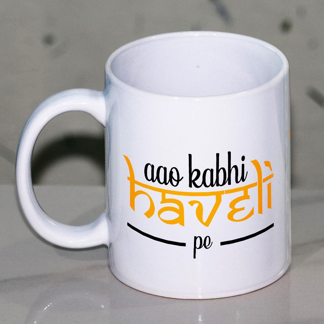 Aao Kabhi Haveli Pe Mug