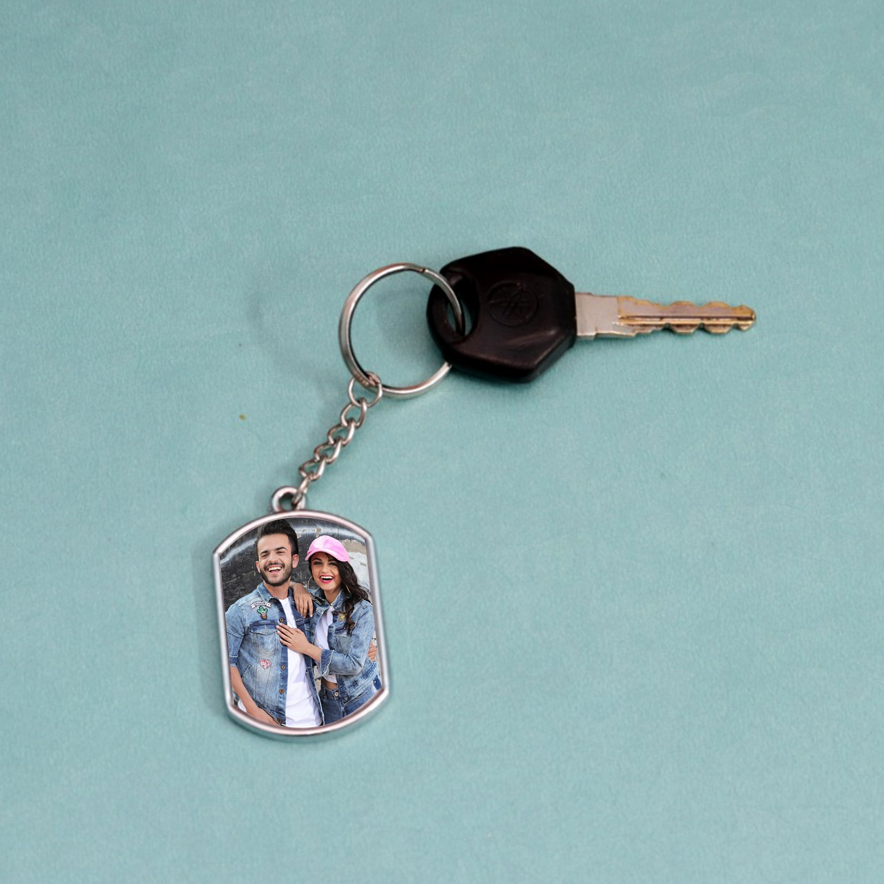 Personalized Duble Side Matel Key Chain