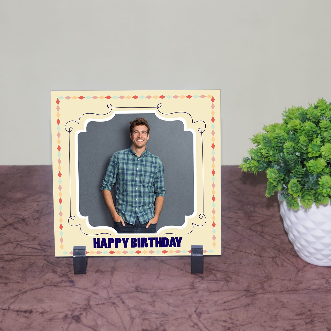 Personalized Birthday Tile