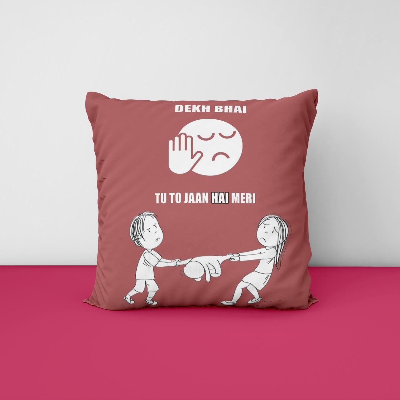 Dekh Bhai Customize Cushion