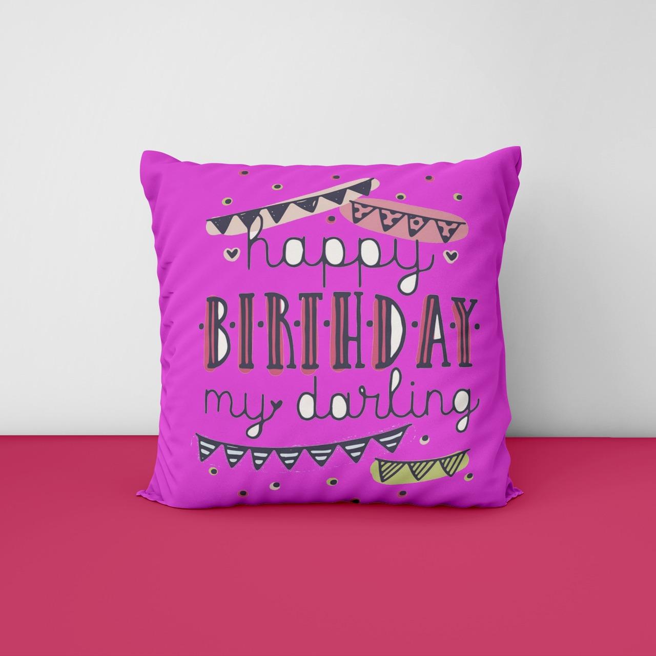 Customize Birthday Cushion